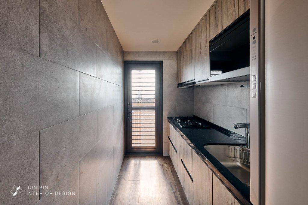 新北板橋巴黎新站現代風室內設計裝潢廚房